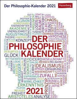 Der Philosophie-Kalender Kalender 2021 von Harenberg, Roth,  Julius Maria