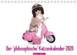 """Der """"philosophische"""" Katzenkalender 2020 (Tischkalender 2020 DIN A5 quer) von Missou,  Madame"""