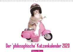 """Der """"philosophische"""" Katzenkalender 2020 (Wandkalender 2020 DIN A3 quer) von Missou,  Madame"""
