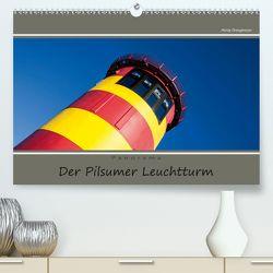 Der Pilsumer Leuchtturm (Premium, hochwertiger DIN A2 Wandkalender 2020, Kunstdruck in Hochglanz) von Dreegmeyer,  Hardy