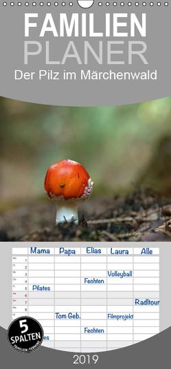 Der Pilz im Märchenwald – Familienplaner hoch (Wandkalender 2019 , 21 cm x 45 cm, hoch) von Flori0