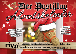 Der Postillon Adventskalender von Sichermann,  Stefan