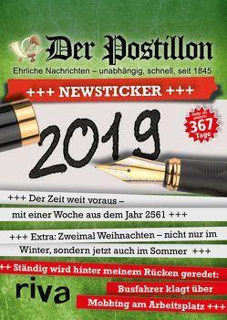 Der Postillon +++ Newsticker +++ 2019 von Sichermann,  Stefan