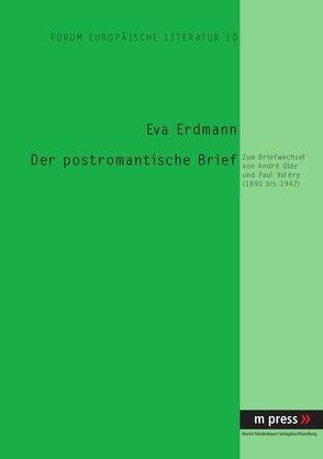 Der postromantische Brief von Erdmann,  Eva