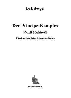 Der Principe-Komplex von Hoeges,  Dirk