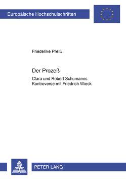 Der Prozeß von Preiss,  Friederike