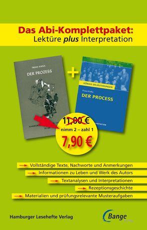 Der Prozess – Das Abi-Komplettpaket: Lektüre plus Interpretation. von Kafka,  Franz