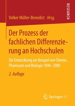 Der Prozess der fachlichen Differenzierung an Hochschulen von Müller-Benedict,  Volker