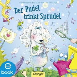 Der Pudel trinkt Sprudel von Glökler,  Angela, Lütje,  Susanne, Zielinski,  Rea Grit