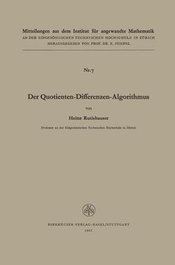 Der Quotienten-Differenzen-Algorithmus von RUTISHAUSER