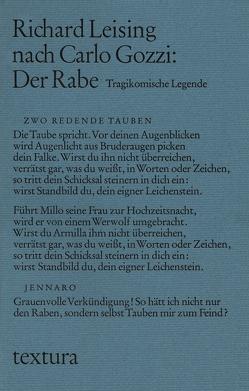 Der Rabe von Gozzi,  Carlo, Leising,  Richard, Renne,  Berndt, Wachinger,  Kristian