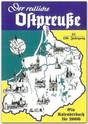 Der redliche Ostpreuße – Ein Kalenderbuch für 2006 von Osman,  Silke
