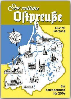 Der redliche Ostpreuße – Ein Kalenderbuch für 2014 von Osman,  Silke