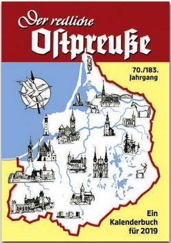 Der redliche Ostpreuße – Ein Kalenderbuch für 2019 von Osman,  Silke