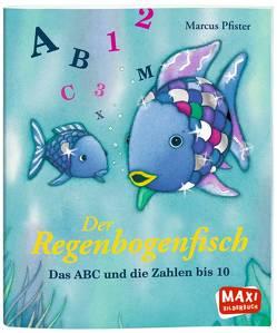 Der Regenbogenfisch. Das ABC und die Zahlen von 1 bis 10 von Pfister,  Marcus