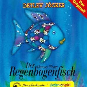 Der Regenbogenfisch – ein Liederhörspiel. Das Mitmachbuch / Der Regenbogenfisch – ein Liederhörspiel. Mit den Instrumental-Playbacks zum Nachsingen und -spielen. von Jöcker,  Detlev, Pfister,  Marcus, Szesny,  Susanne