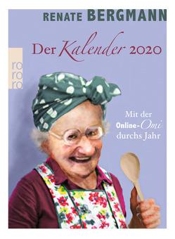 Der Renate Bergmann Kalender 2020 von Bergmann,  Renate