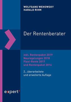 Der Rentenberater von Rihm,  Harald, Wehowsky,  Wolfgang