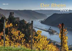 Der Rhein von Mainz bis Köln 2022 Bildkalender A3 cm Spiralbindung von Klaes,  Holger