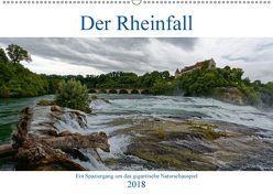 Der Rheinfall – Ein Spaziergang um das gigantische Naturschauspiel (Wandkalender 2018 DIN A2 quer) von Eisold,  Hanns-Peter