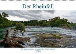 Der Rheinfall – Ein Spaziergang um das gigantische Naturschauspiel (Wandkalender 2019 DIN A2 quer) von Eisold,  Hanns-Peter