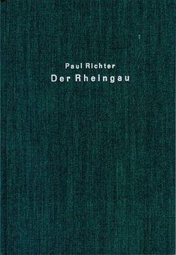 Der Rheingau von Richter,  Paul