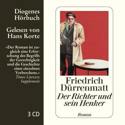 Der Richter und sein Henker von Dürrenmatt,  Friedrich, Korte,  Hans
