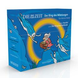 Der Ring des Nibelungen für kleine Hörer, sowie Parsifal und Der fliegende Holländer, Die ZEIT-Edition von Könnecke,  Ole, Petzold,  Bert Alexander, Wagner,  Richard