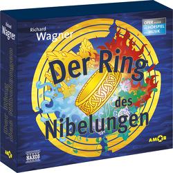 Der Ring des Nibelungen – Oper erzählt als Hörspiel mit Musik (4 CD-Box) von Petzold,  Bert Alexander, Wagner,  Richard