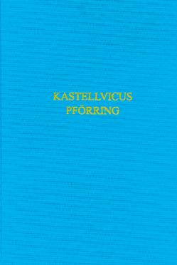 Der römische Kastellvicus von Pförring von Schwarzhuber,  Monika