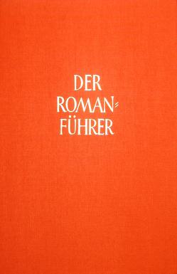 Der Romanführer. Der Inhalt der Romane und Novellen der Weltliteratur von Pleßke,  Hans-Christoph