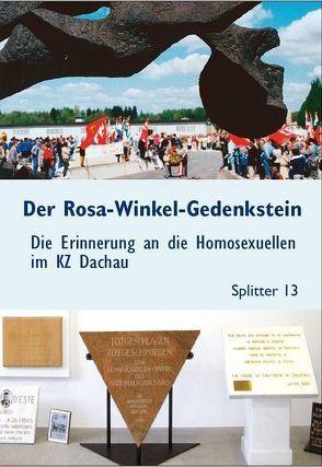 Der Rosa-Winkel-Gedenkstein von Knoll,  Albert