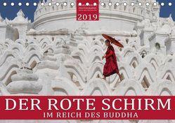 DER ROTE SCHIRM – Im Reich des Buddha (Tischkalender 2019 DIN A5 quer) von Weigt Photography,  Mario