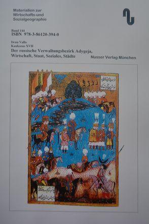 Der Kaukasus / Der russische Verwaltungsbezirk Adygeja von Festner,  Sibylle, Iwan,  Vallo