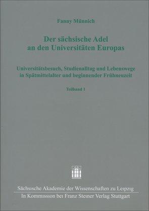 Der sächsische Adel an den Universitäten Europas von Münnich,  Fanny