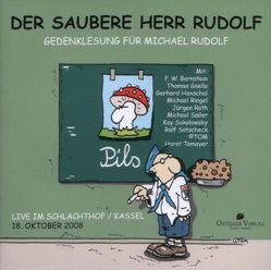 Der saubere Herr Rudolf (Live-Lese-CD) von Roth,  Jügen