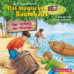 Der Schatz der Piraten (Das magische Baumhaus 4) von Kaminski,  Stefan, Pope Osborne,  Mary, Rahn,  Sabine