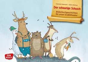 Der schaurige Schusch. Kamishibai Bildkartenset. von Büchner,  Sabine, Habersack,  Charlotte