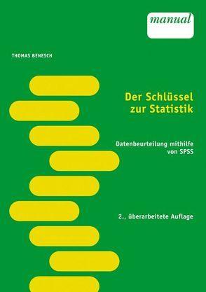 Der Schlüssel zur Statistik von Benesch,  Thomas