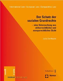 Der Schutz der sozialen Grundrechte von Dorfmann,  Julia