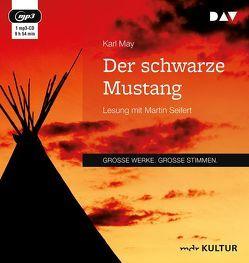 Der schwarze Mustang von May,  Karl, Seifert,  Martin