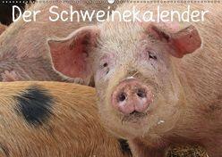 Der Schweinekalender (Wandkalender 2019 DIN A2 quer) von Schmutzler-Schaub,  Christine