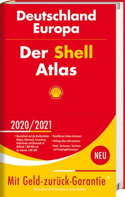 Der Shell Atlas 2020/2021 Deutschland 1:300 000, Europa 1:750 000
