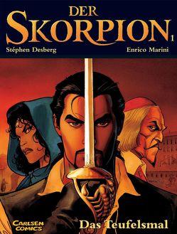 Der Skorpion 1: Das Teufelsmal von Desberg,  Stephen, Marini,  Enrico
