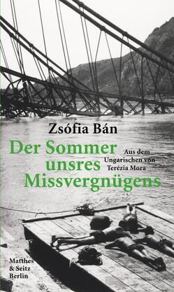 Der Sommer unsres Missvergnügens von Bán,  Zsófia, Mora,  Terézia, Strigl,  Daniela