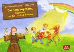Der Sonnengesang. Franziskus und das Lob der Schöpfung. Kamishibai Bildkartenset. von Lefin,  Petra, Wittmann,  Sybille