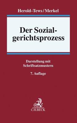 Der Sozialgerichtsprozess von Herold-Tews,  Heike, Merkel,  Günter, Niesel,  Klaus