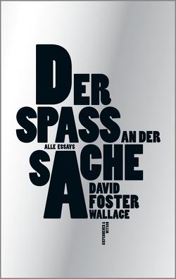 Der Spaß an der Sache von Blumenbach,  Ulrich, Foster Wallace,  David, Ingendaay,  Marcus