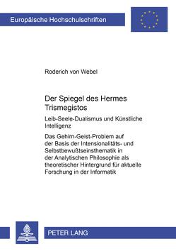 Der Spiegel des Hermes Trismegistos von von Webel,  Roderich