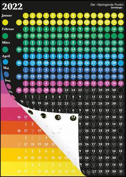Der Springende Punkt schwarz 2022 57,5×81 von Domberger,  Michael